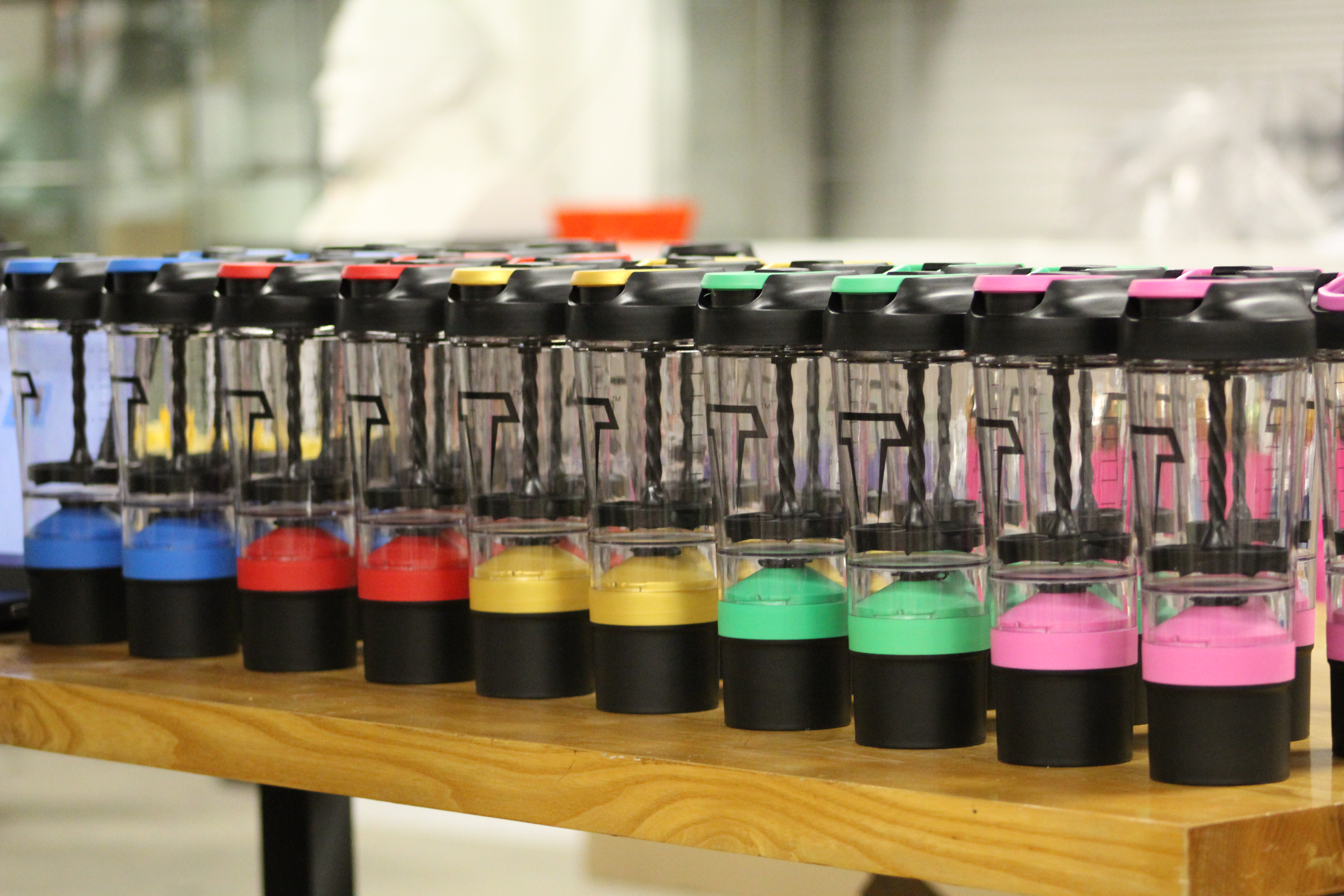 Titan Mixer Bottle Lineup