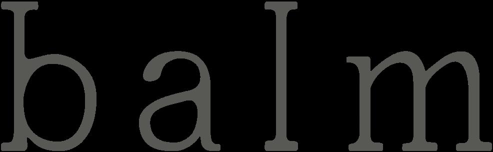 Balm Skin Care Logo