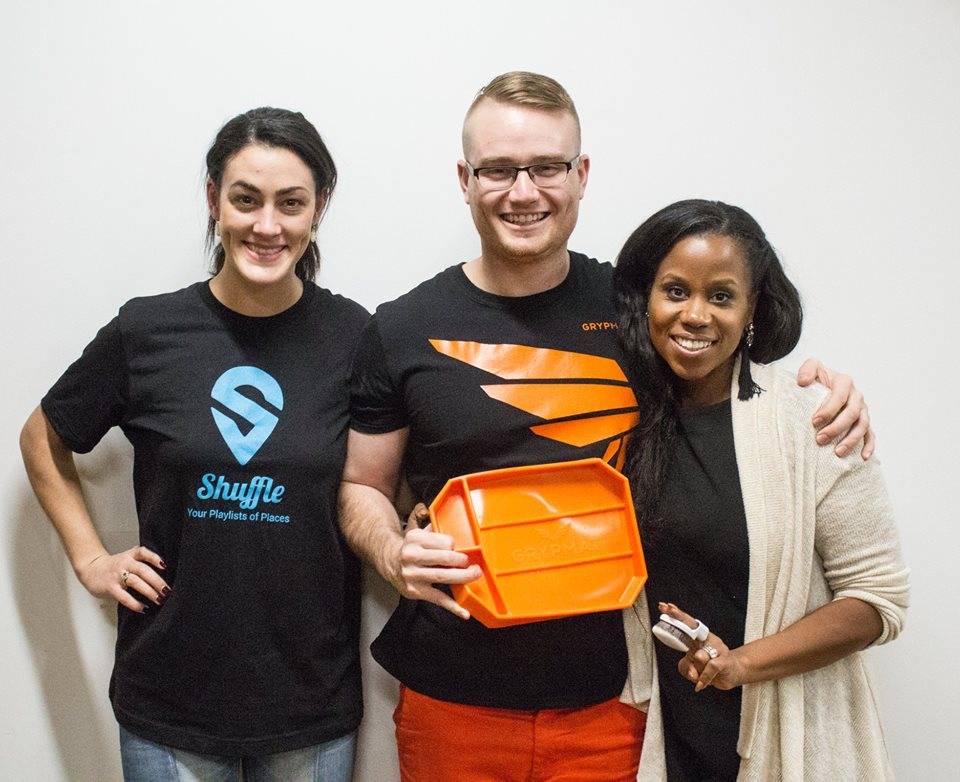 Product Hunt Columbus Recap – Grypmat, Yubi Beauty, and Shuffle!
