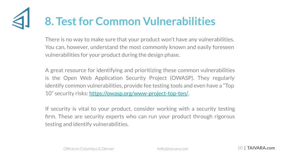 Top 10 Security Best Practices for Digital Products (10)