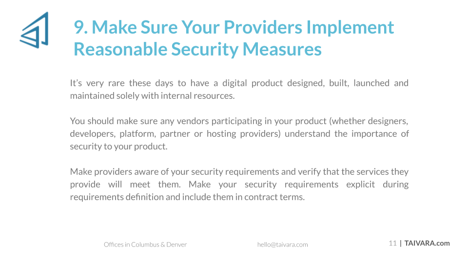 Top 10 Security Best Practices for Digital Products (11)