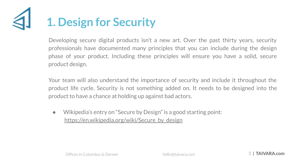 Top 10 Security Best Practices for Digital Products (2)