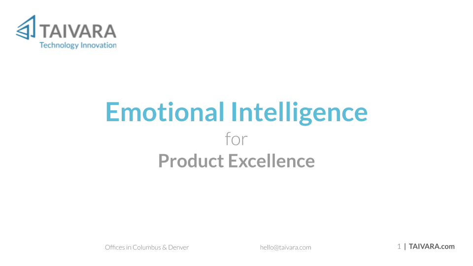 [Text Version] Emotional Intelligence for Product Excellence (14)