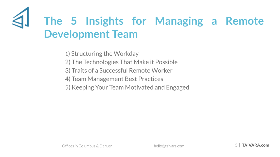 5 Insights for Managing a Remote Development Team (2)