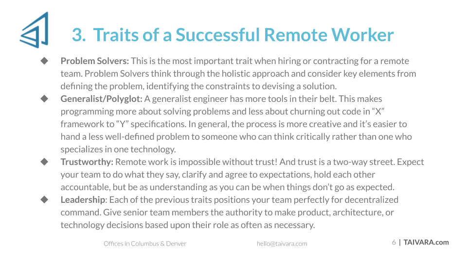 5 Insights for Managing a Remote Development Team (5)