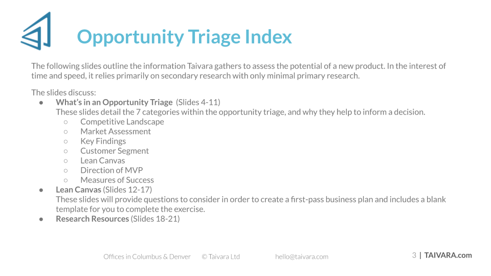 Final - The Opportunity Triage Guide (2)