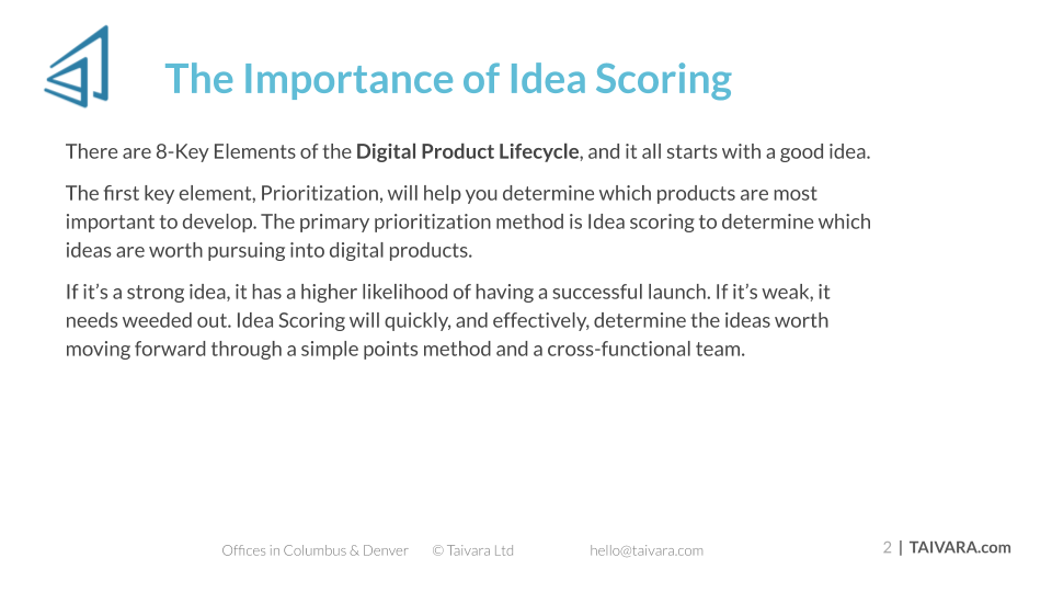 Idea Scoring (1)