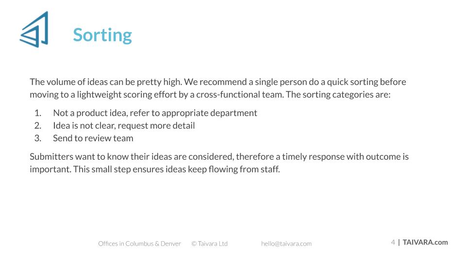Idea Scoring (3)